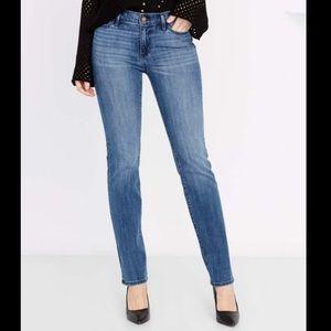 Buffalo Jeans mid rise faith straight leg jeans